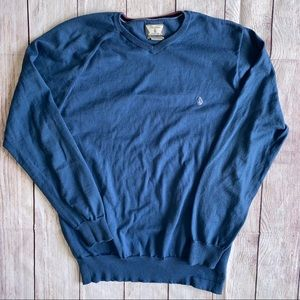Men's medium Volcom Sweater Blue
